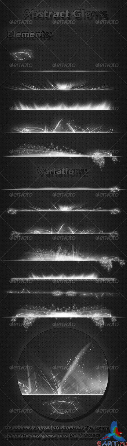 Abstract Glows - GraphicRiver