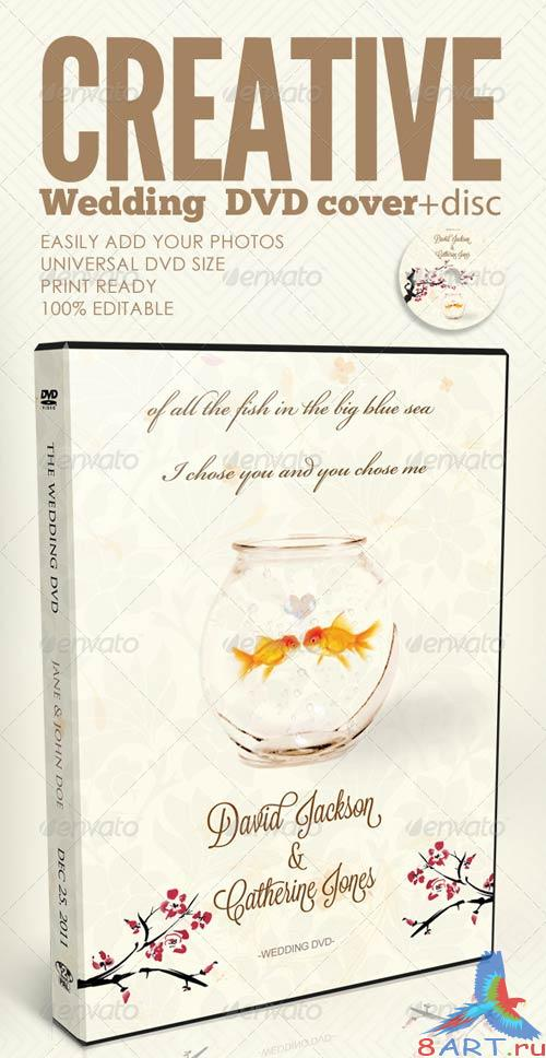 GraphicRiver Creative Wedding DVD & Disc Label Artwork PSD