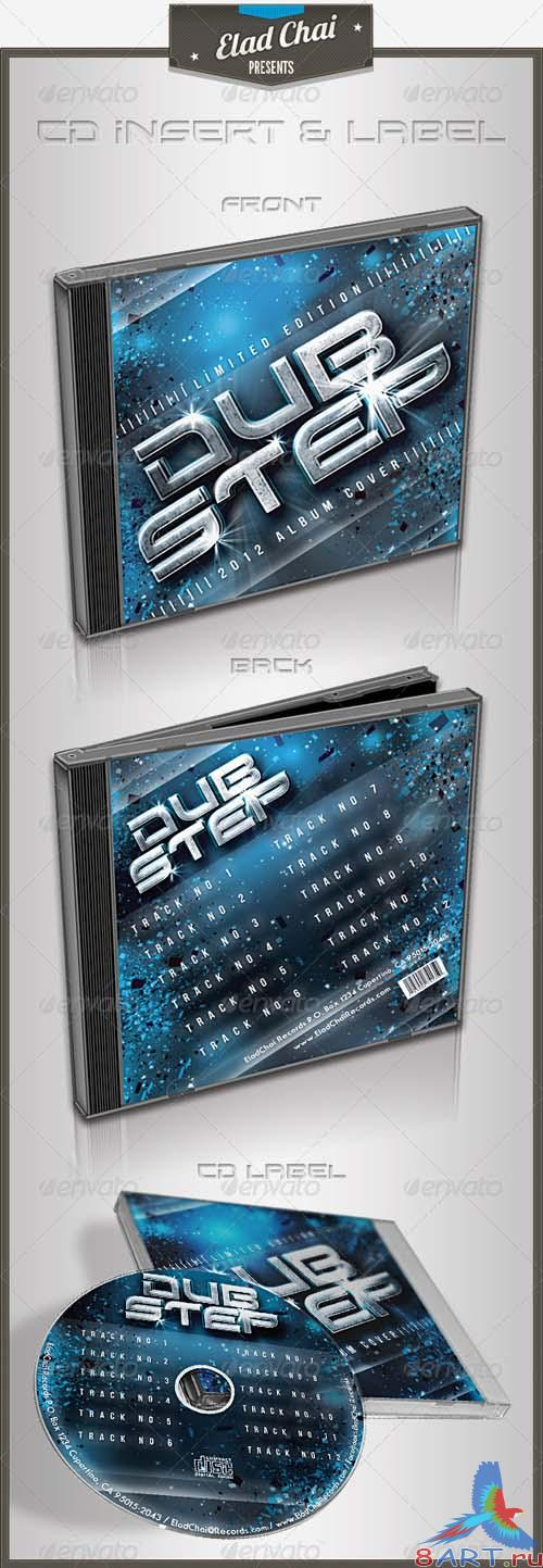 GraphicRiver Dubstep CD Cover | Insert & Label
