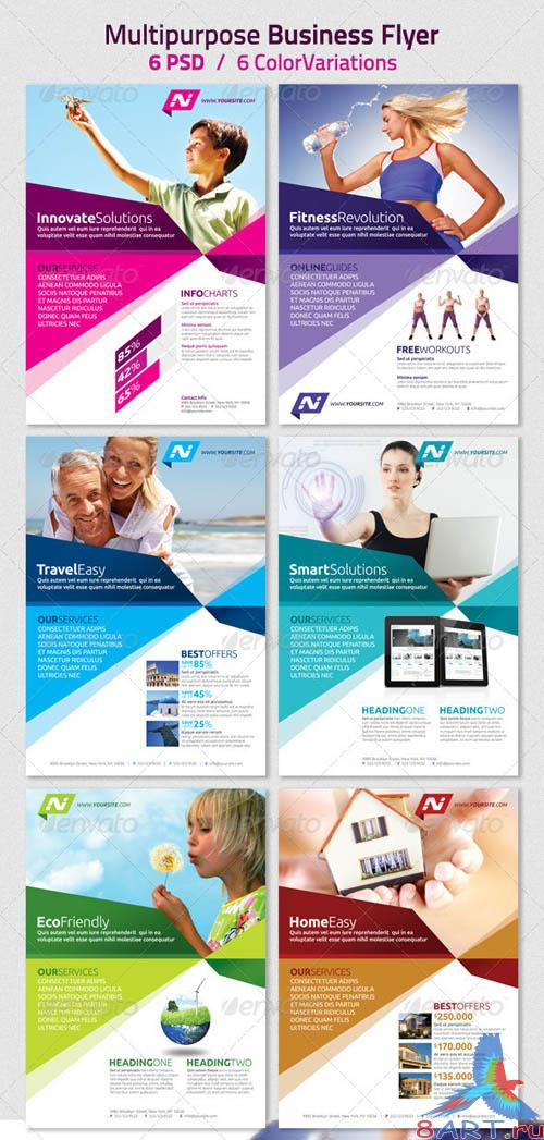 GraphicRiver Multipurpose Business Flyer, Magazine Ad
