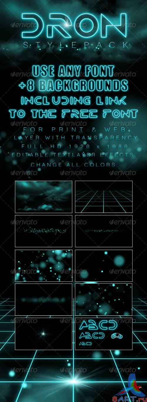 GraphicRiver - Dron Style Pack