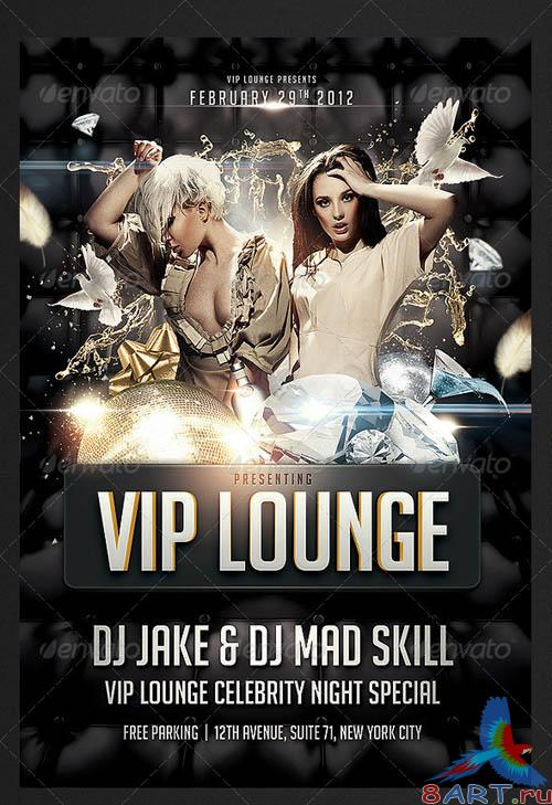 GraphicRiver VIP Lounge Flyer