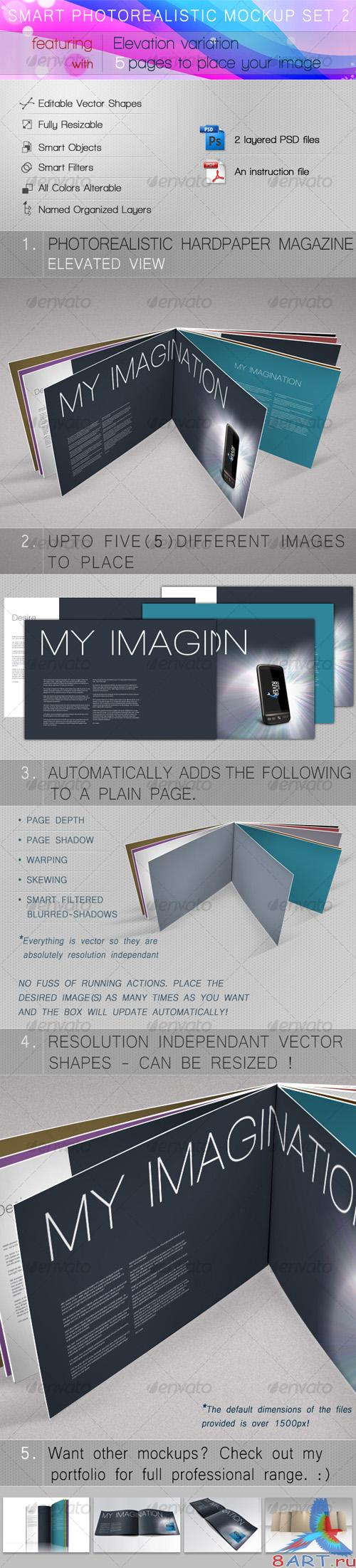 Smart Photorealistic Mockup Set 2