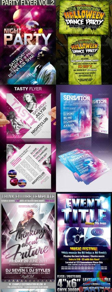 GraphicRiver Flyers Templates Pack-9