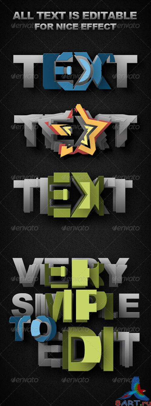 GraphicRiver - Smart-Object Text
