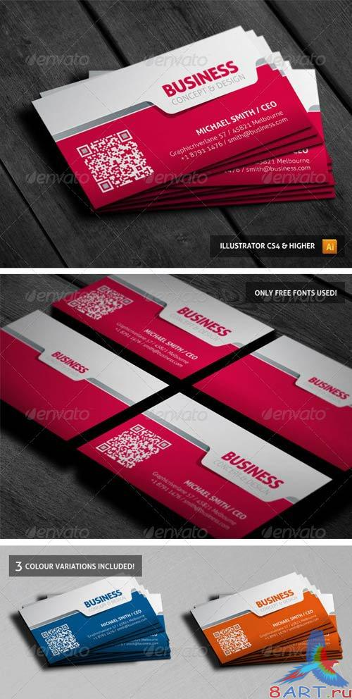 GraphicRiver Stylish Businesscard 01