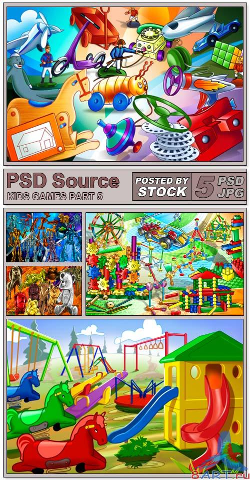 PSD Source - Kids Games 5