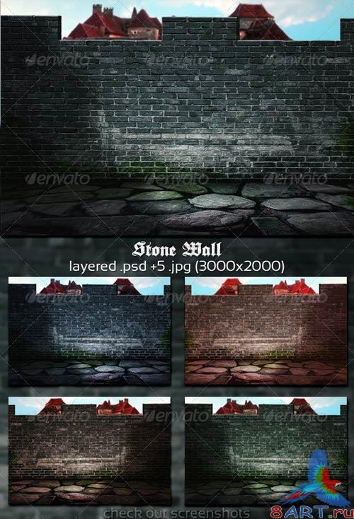 GraphicRiver Stone Wall