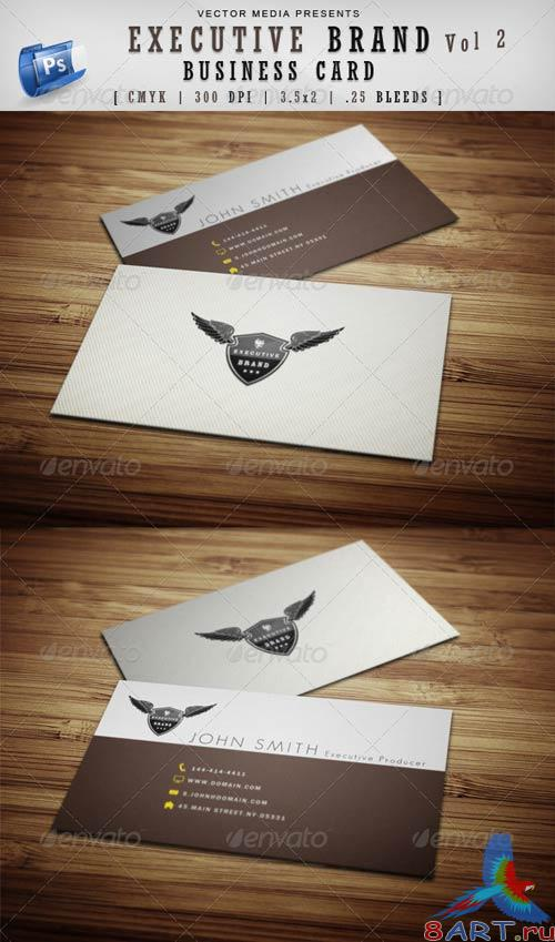 GraphicRiver Executive Brand - Business Card 91;Vol.293;