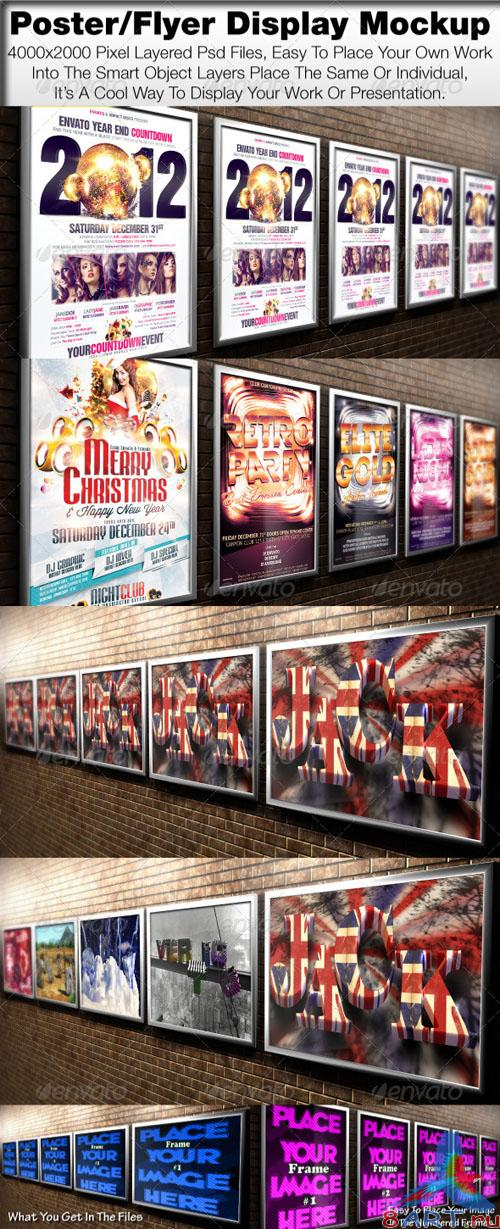 GraphicRiver - Poster/Flyer Display Mock Up 778921