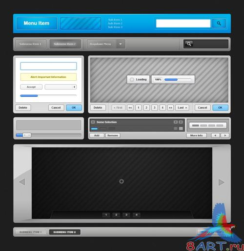 GraphicRiver Futuremotion Ultimate Web UI Kit