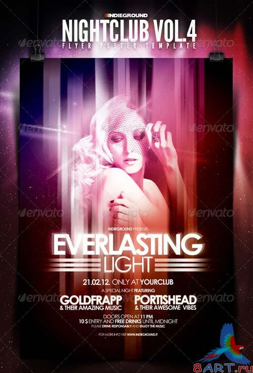 GraphicRiver Nightclub Flyer/Poster Vol. 4