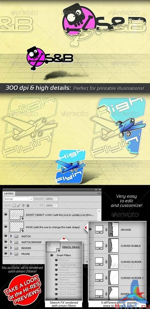 GraphicRiver Pencil Sketch Presenter