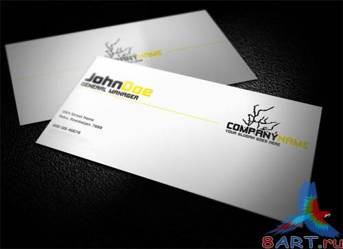 PSD Template - Professional Business Card