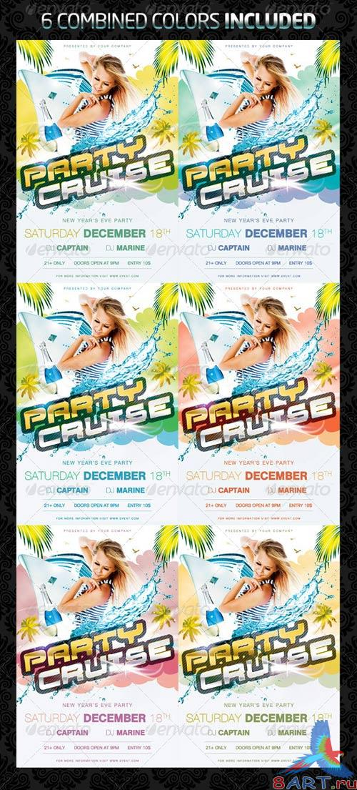 GraphicRiver Party Cruise Flyer