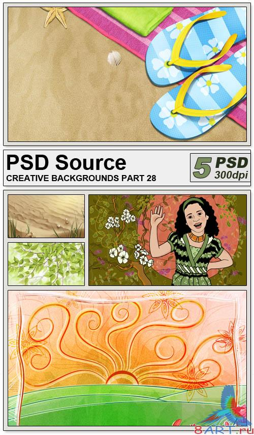 PSD Source - Creative backgrounds 28