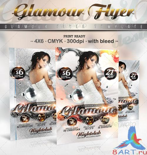 GraphicRiver Glamour Flyer Template 2216703
