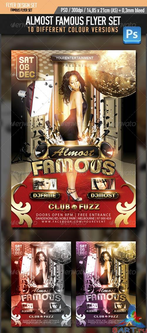 GraphicRiver Almost Famous Flyer