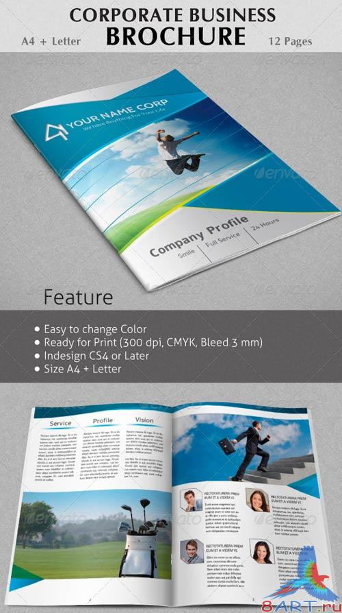GraphicRiver Professional Corporate Business Brochure