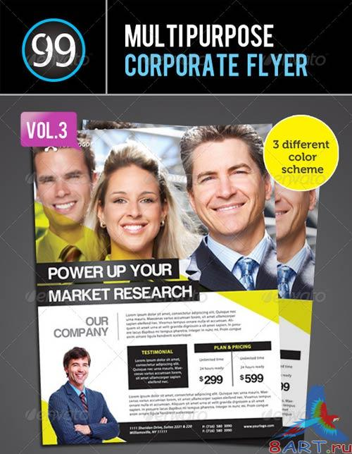 GraphicRiver Corporate Flyer vol 3