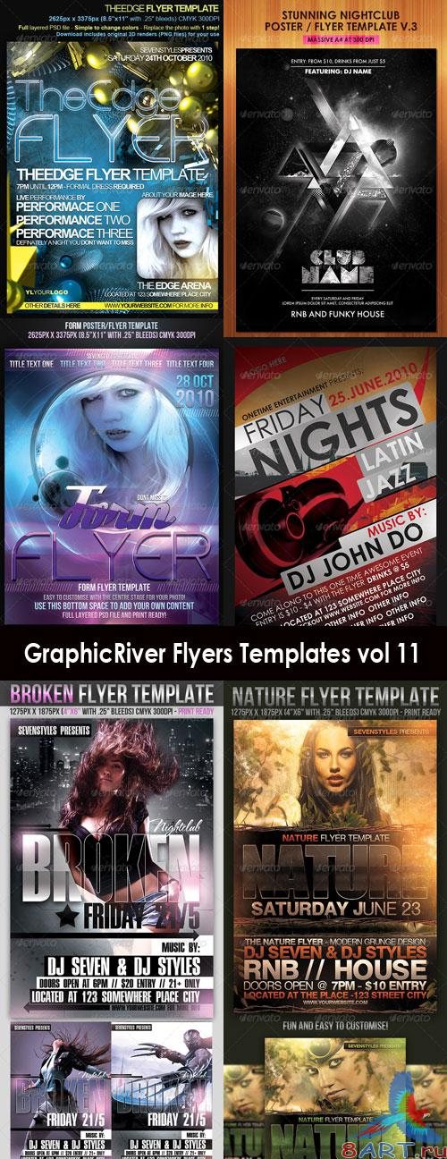 GraphicRiver Flyers Templates Vol-11