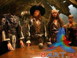 Pirates of the Caribbean Sea. ������ �� ����������� �� ������� PSD