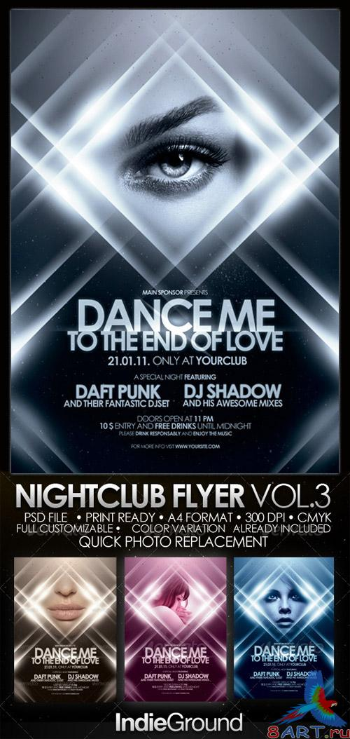 Nightclub Flyer/Poster 3
