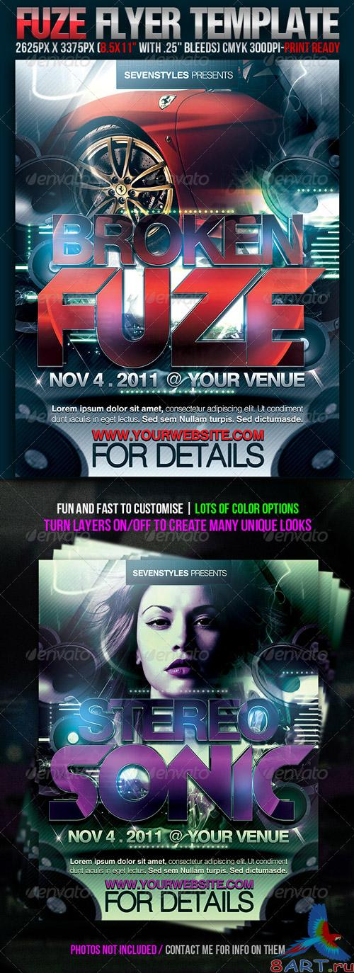 GraphicRiver - Fuze Flyer Template