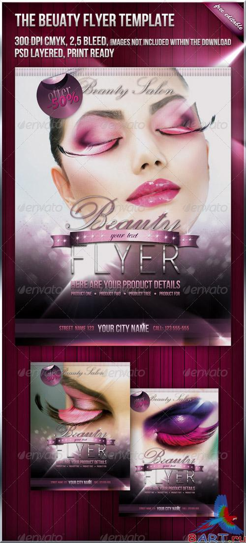 Beauty Fashion Flyer - GraphicRiver