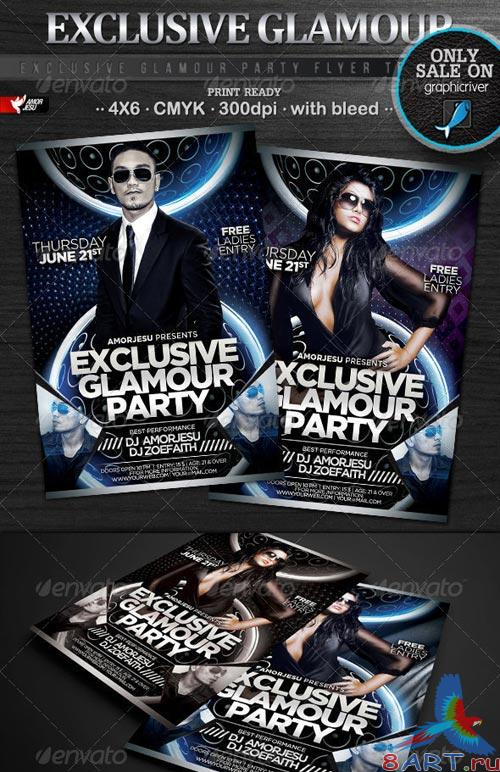 GraphicRiver Exclusive Glamour Party Flyer Template