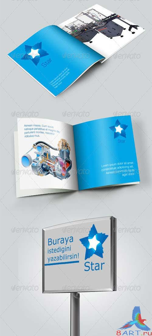 GraphicRiver Corporate Identity Preview Mock-up V.1