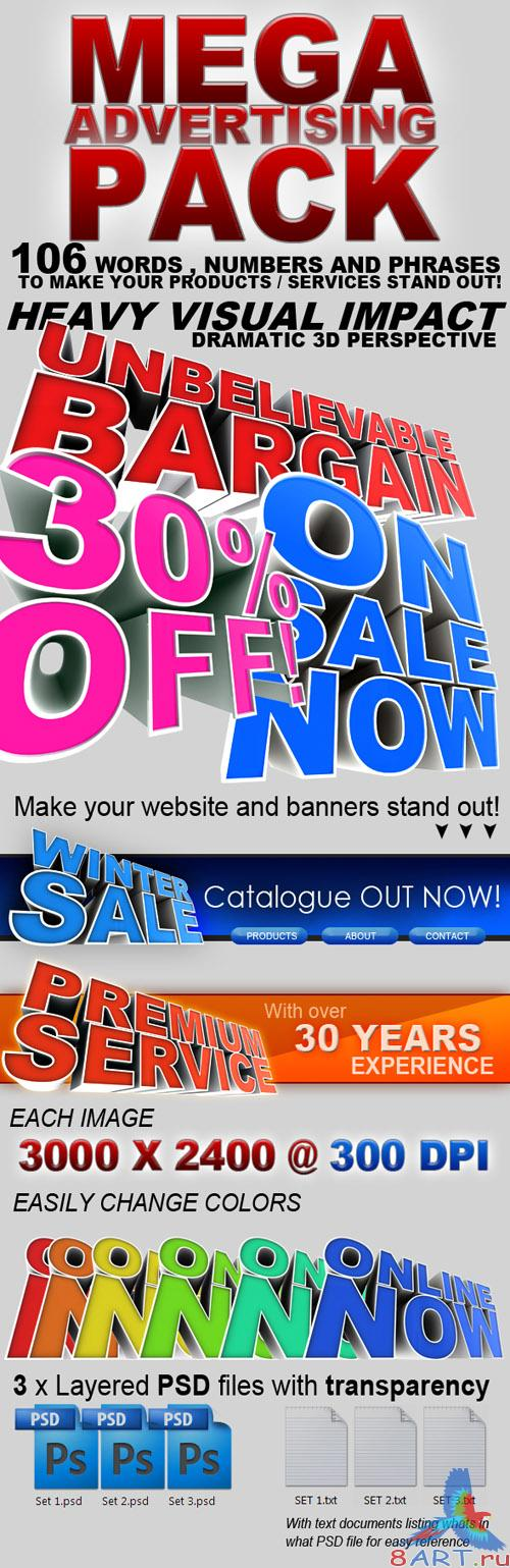 Mega Advertising Pack! - GraphicRiver