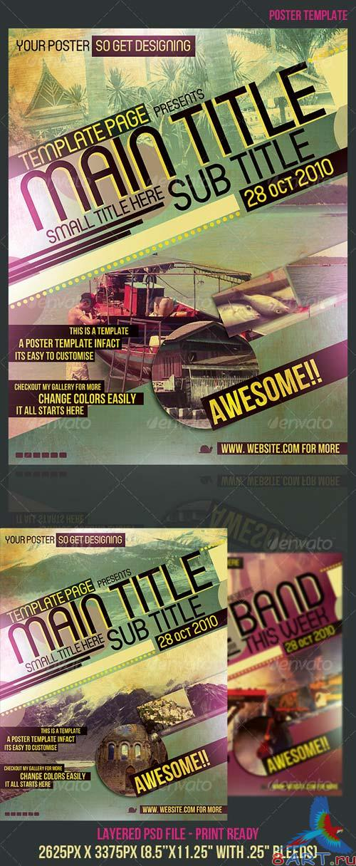 GraphicRiver Poster Template 128573