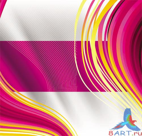 PSD - Abstract Wave Template