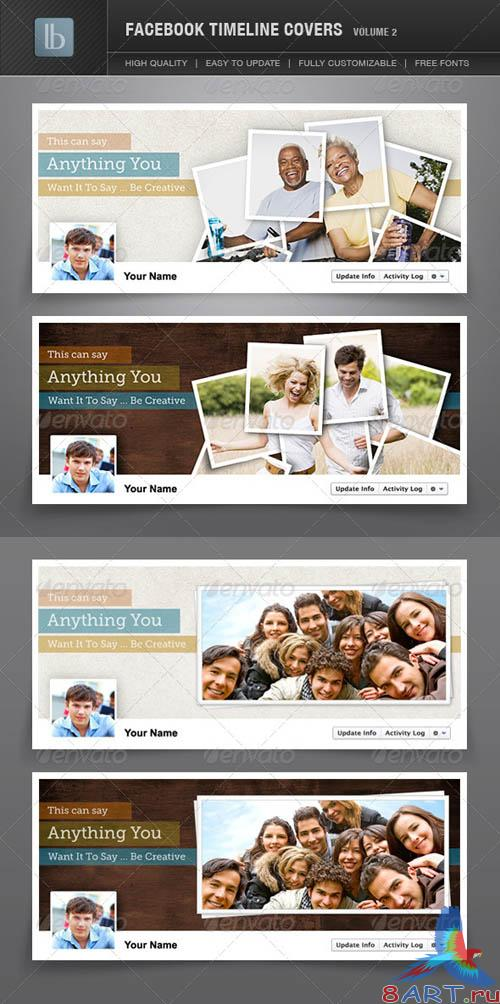 GraphicRiver Facebook Timeline Covers | Volume 2