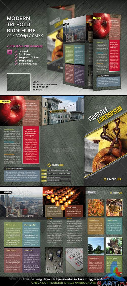 GraphicRiver Modern trifold brochure