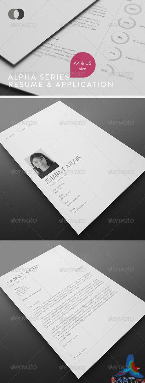GraphicRiver Resume - Alpha Series