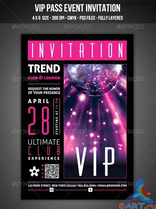 GraphicRiver VIP Club Event Invitation