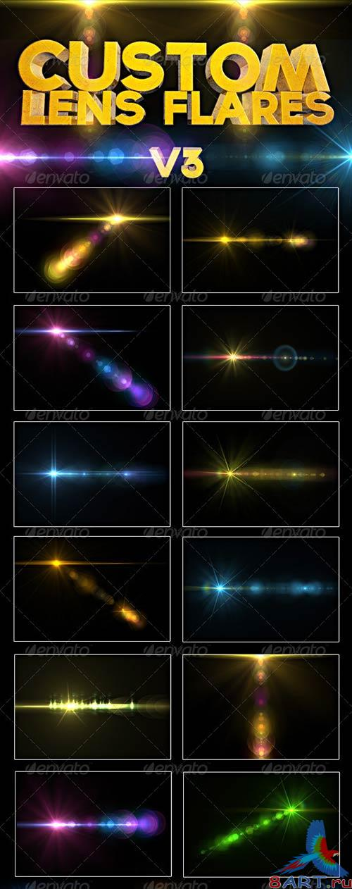 GraphicRiver Custom Lens Flares V3