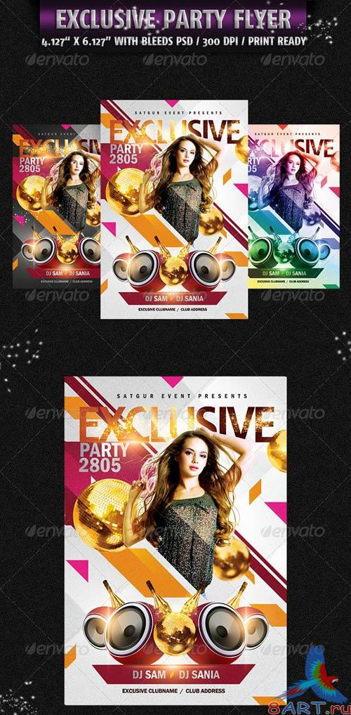 GraphicRiver Exclusive Party Flyer