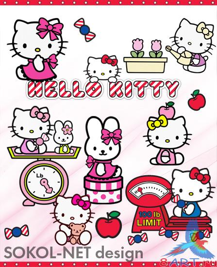 Hello Kitty PNG (pack 2)