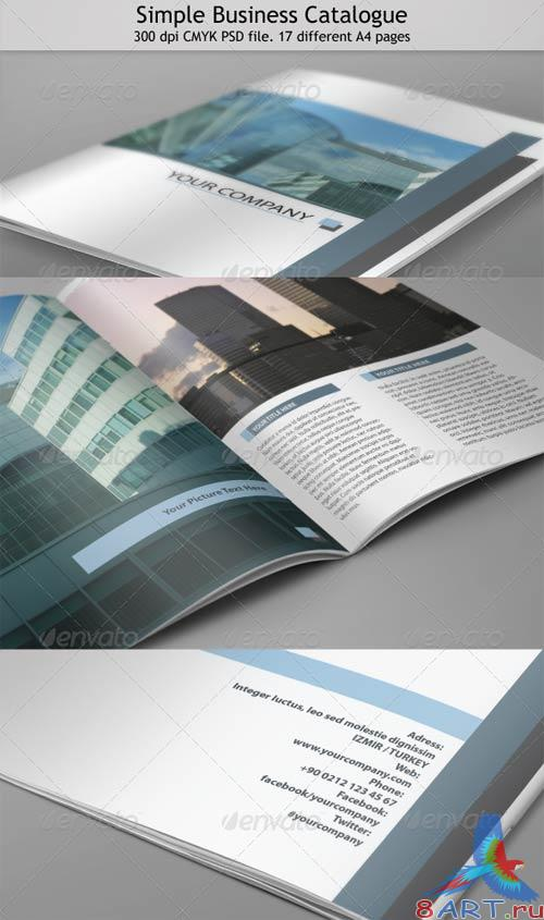 GraphicRiver 17 Page Clean Business Catalog
