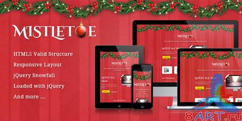 ThemeForest - MistleToe - A Christmas Special Landing Page