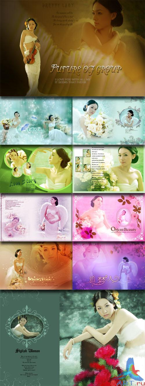 PhotoTemplates - Wedding Collection Vol.14 (77527)