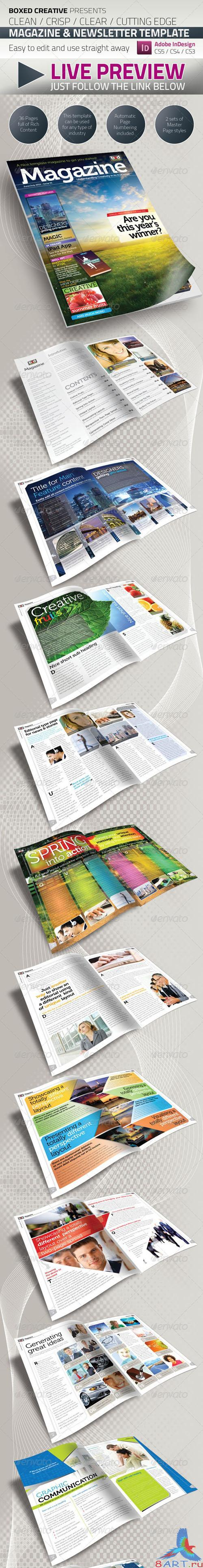 GraphicRiver - 36 Page Magazine / Newsletter Template 427849