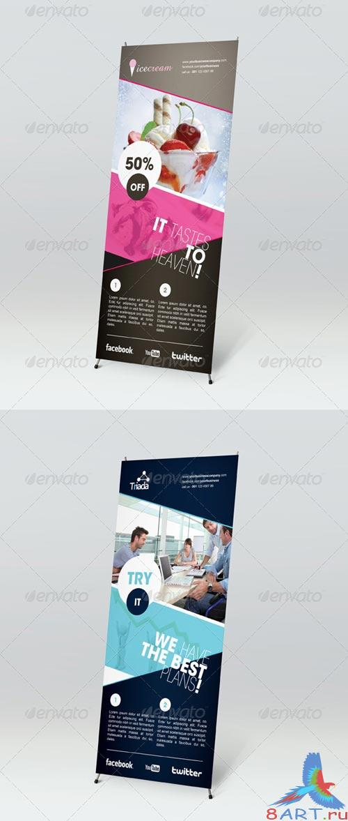 GraphicRiver Multipurpose Outdoor Banner Signage 1