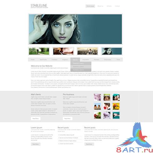 Dynamic CSS Templates - Angel
