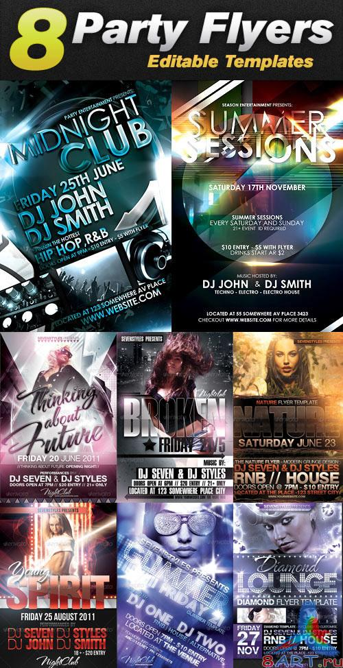 GraphicRiver - Sevenstyles Poster & Flyer Templates Bundle