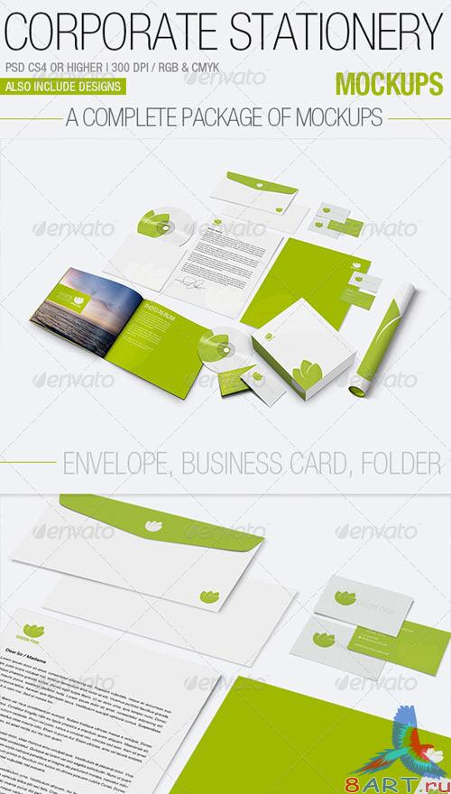 GraphicRiver Corporate Stationery Mockups