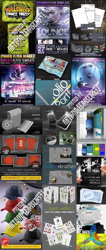 GraphicRiver Stylish Design Collection 10 - REUPLOAD